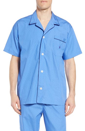 Polo Ralph Lauren Dot Cotton Pajama Shirt