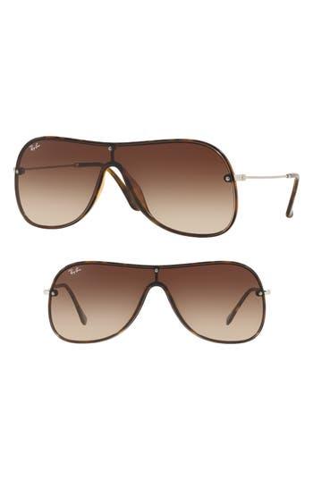 Ray-Ban Highstreet 1 Shield Sunglasses - Light Havana Gradient