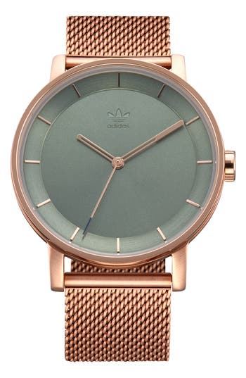 Adidas Originals DISTRICT MILANESE BRACELET WATCH, 40MM