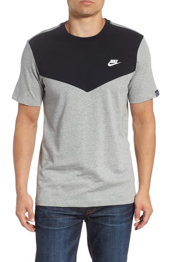 Nike Windrunner Colorblocked T-Shirt, Black