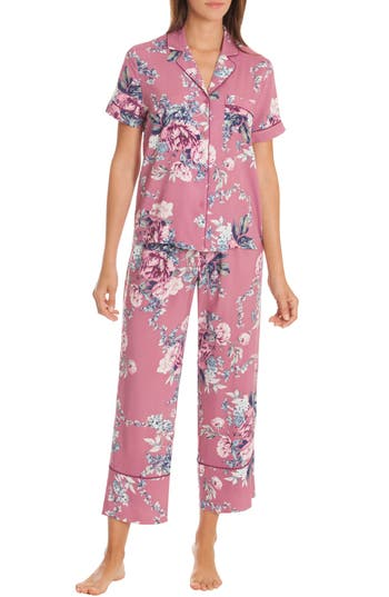 In Bloom By Jonquil Crop Pajamas, Pink