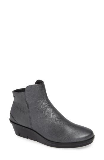 Ecco Skyler Wedge Boot, Grey