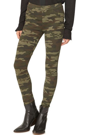 Sanctuary Grease Leggings, Green