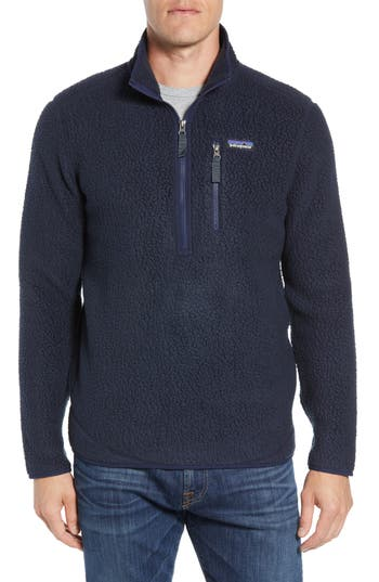 Patagonia Retro Pile Fleece Zip Jacket, Blue