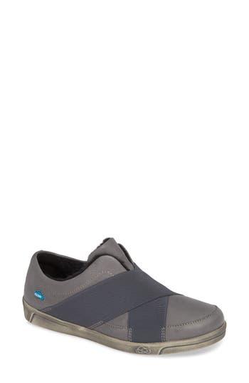 Cloud April Wool Lined Sneaker, Grey