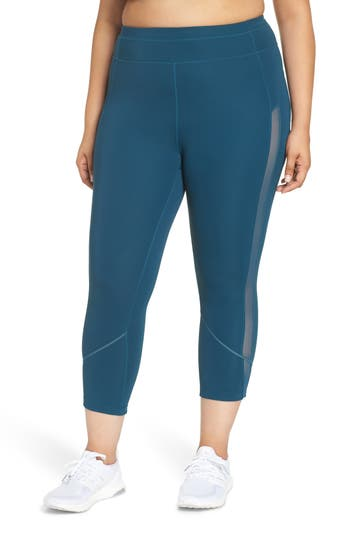 Plus Size Zella All In Crop Tights