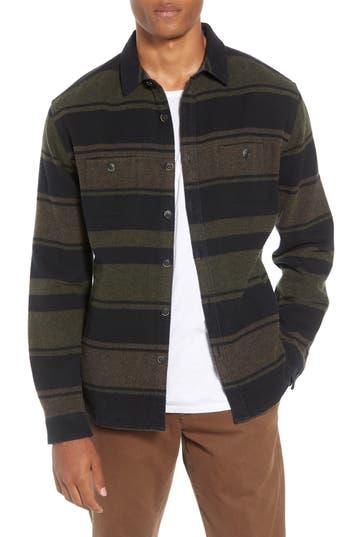 Life/after/denim Mount Royal Slim Fit Shirt Jacket, Black