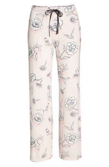 Pj Salvage Floral Pajama Pants, Pink