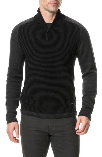 Rodd & Gunn Fernleigh Merino Wool Blend Sweater, Grey