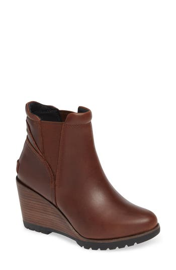 Sorel After Hours Chelsea Boot- Brown