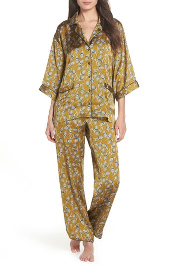Chelsea28 Ella Pajamas, Green