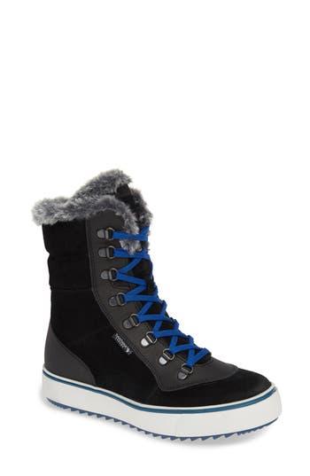 Santana Canada Mid Water Resistant Winter Boot, Black