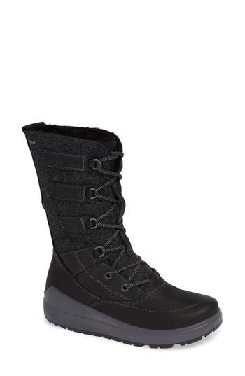Ecco Noyce Waterproof Boot, Black
