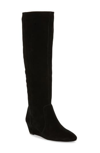 Sole Society Aileena Over The Knee Boot, Black