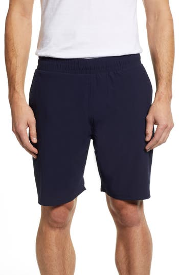 Tasc Performance Charge Water Resistant Athletic Shorts, Blue