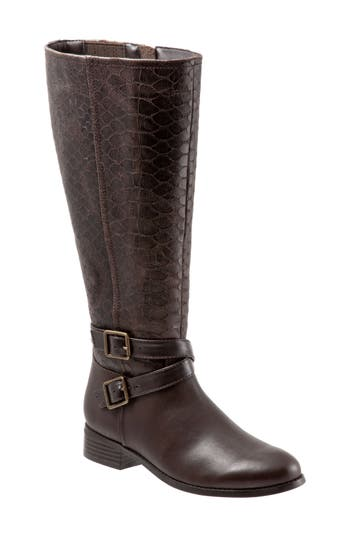 Trotters Liberty Knee High Boot, Brown