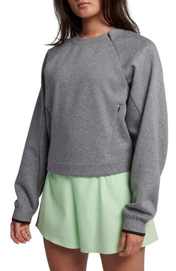 Nike Nikelab Collection Fleece Crew, Grey