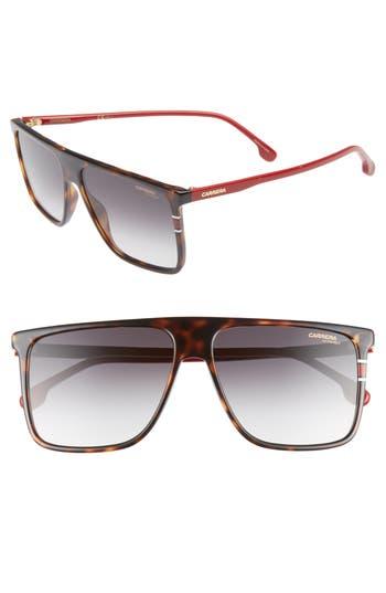 Carrera Eyewear 145Mm Flat Top Sunglasses - Havana/ Red