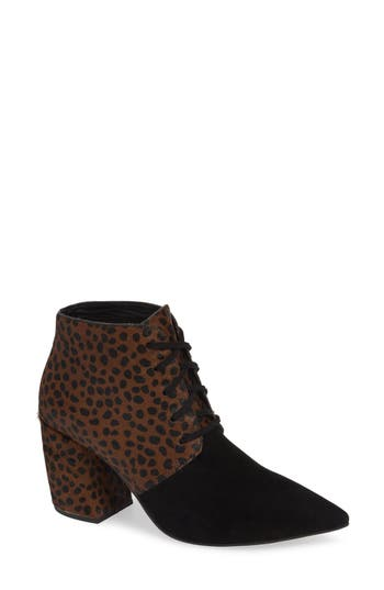 Jeffrey Campbell Finito Genuine Calf Hair Bootie