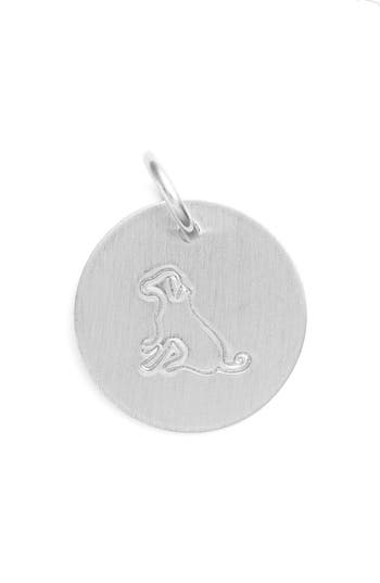 Women's Nashelle Dog Stamp Charm