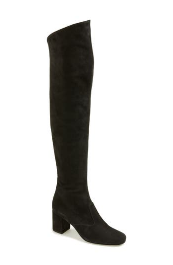 Women's Saint Laurent 'Babies' Over The Knee Boot