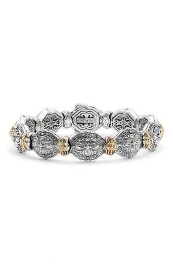 Women's Konstantino 'Silver & Gold Classics' Link Bracelet