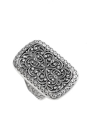 Women's Konstantino 'Classics' Rectangle Filigree Ring