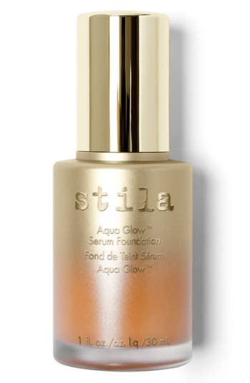 Stila 'Aqua Glow' Serum Foundation - Tan Deep