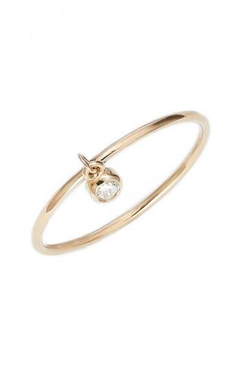 Zoe Chicco Dangling Diamond Ring