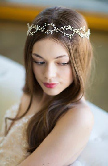 Brides & Hairpins Octavia Pearl & Jeweled Halo & Sash
