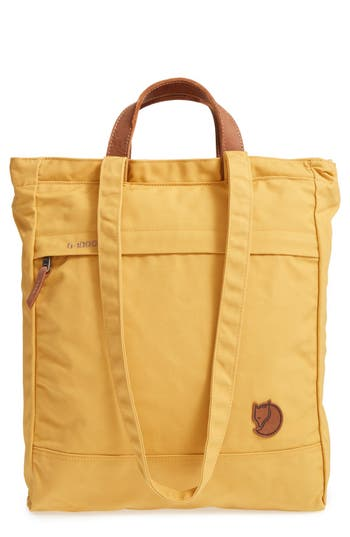 Fjallraven 'Totepack No.1' Water Resistant Tote - Yellow