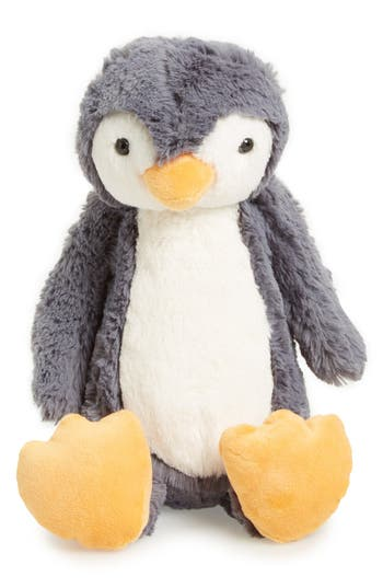 Infant Jellycat Medium Bashful Penguin Stuffed Animal