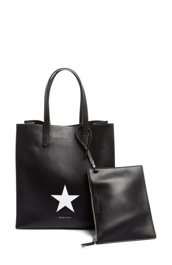 Givenchy Medium Stargate Star Leather Tote -