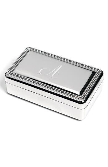 Cathy's Concepts Monogram Jewelry Box -