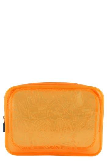 Flight 001 'X-Ray' Neon Quart Bag -