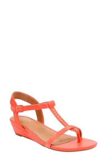 Women's Clarks Parram Blanc Sandal