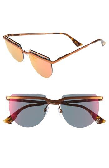 Women's Le Specs Mafia Moderne 52Mm Rimless Sunglasses - Firecracker
