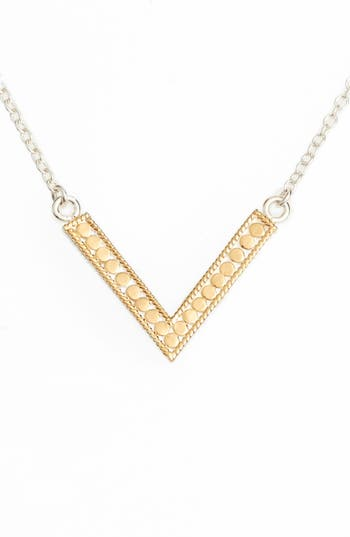 Women's Anna Beck Reversible V Necklace