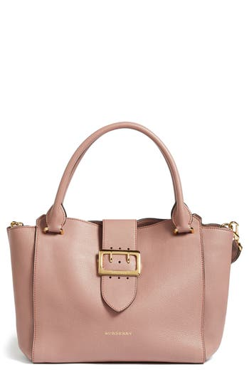Burberry Medium Buckle Tote - Pink