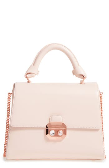 Ted Baker London Leather Top Handle Satchel -