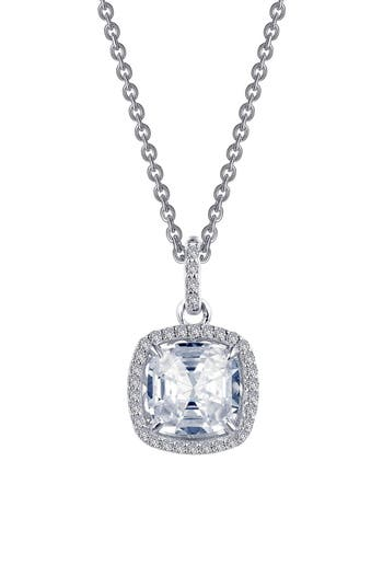Women's Lafonn Rose Cut Simulated Diamond Necklace