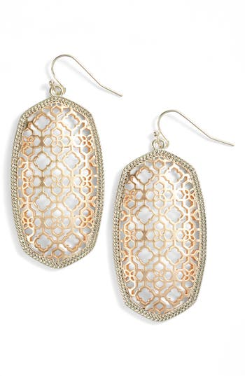 Women's Kendra Scott Danielle Large Openwork Statement Earrings
