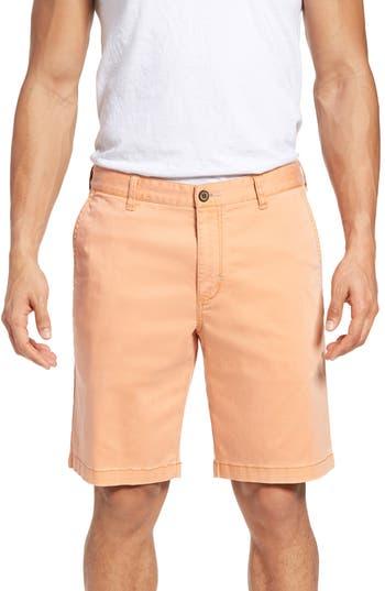 Big & Tall Tommy Bahama Boracay Chino Shorts, Orange