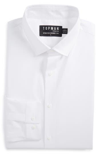 Men's Topman Long Sleeve Woven Shirt