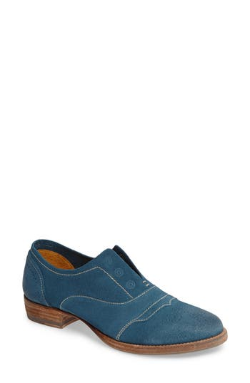 Women's Blackstone 'Hl55' Slip-On Oxford, Size 36 EU - Blue