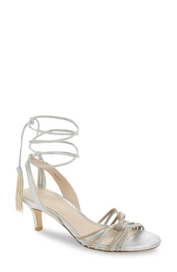 Pelle Moda Benni Sandal, Metallic