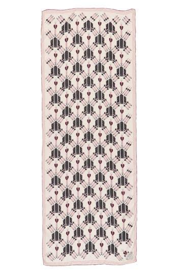 Women's Valentino Loveblade Silk Scarf