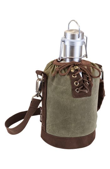 Picnic Time Growler & Tote, Size One Size - Green