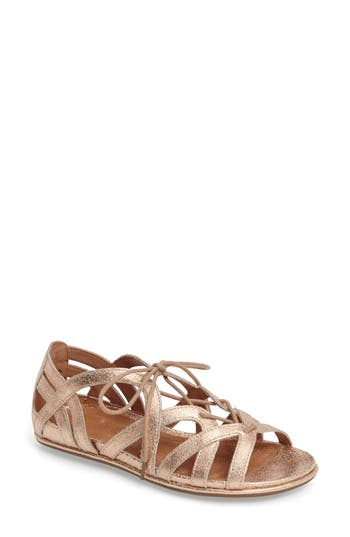 Women's Gentle Souls 'Orly' Lace-Up Sandal, Size 5.5 M - Pink