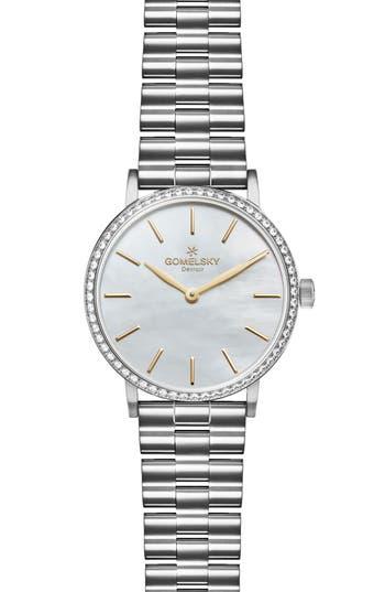 Women's Gomelsky The Agnes Varis Diamond Bracelet Watch, 32Mm